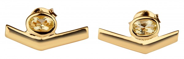 Simple Transforming Earrings Gold