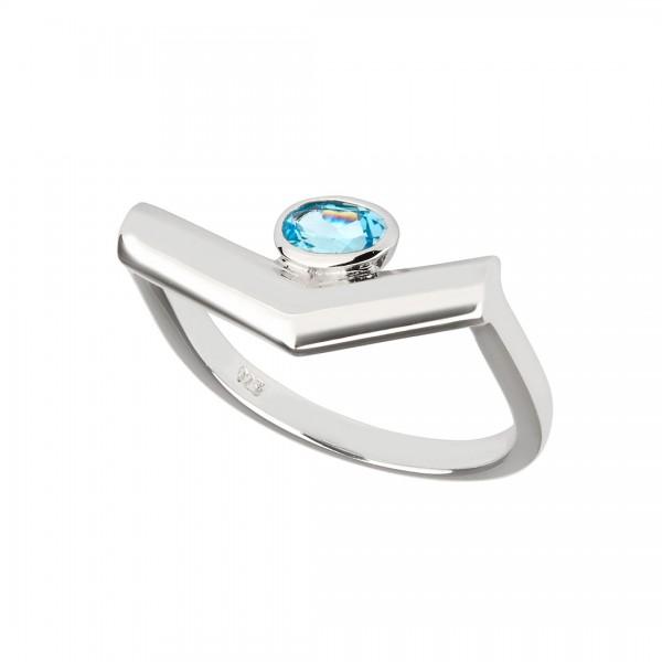 Simple Pioneering Ring Silver