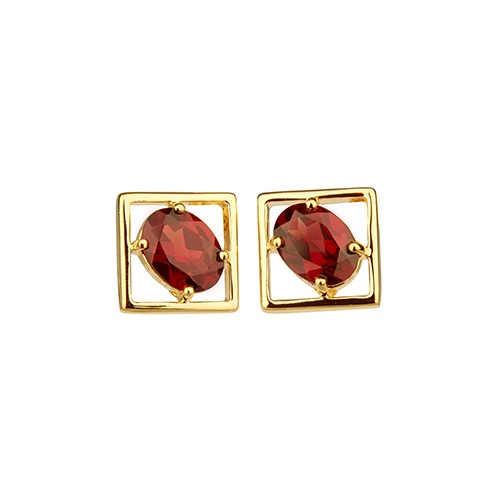 Charming Small Earrings Gold