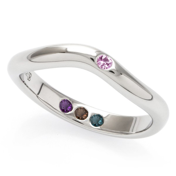 Hidden Inner Strength Ring Silver Polished