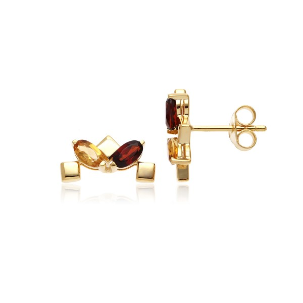 Daring Little Stud Earrings Gold