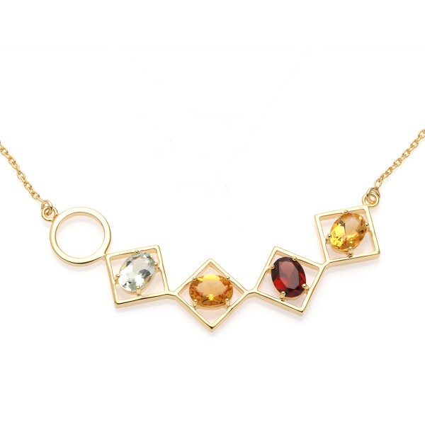 Charming Necklace Gold
