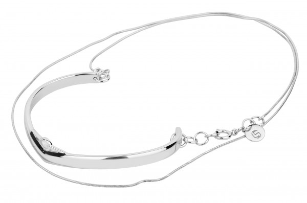 Unlimited Simple Bracelet Silver