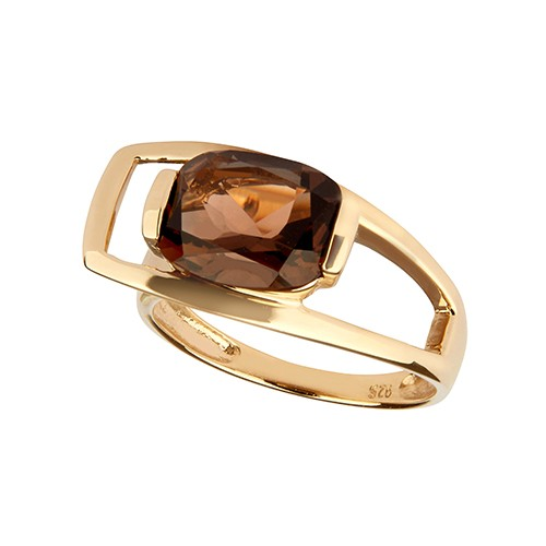 Charming Quartz Ring Gold