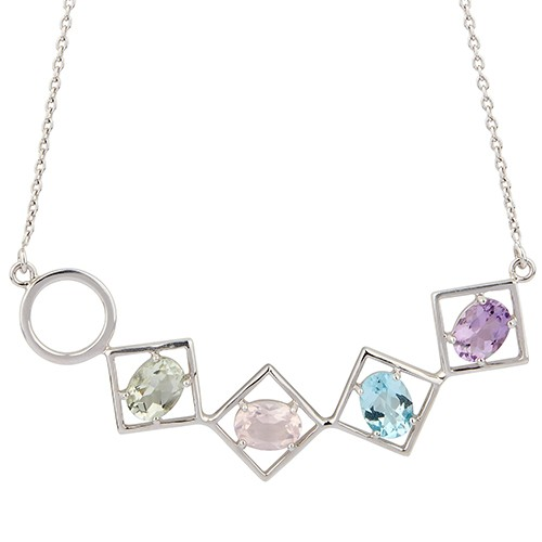 Charming Necklace Silver
