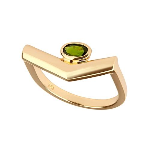Simple Pioneering Ring Gold