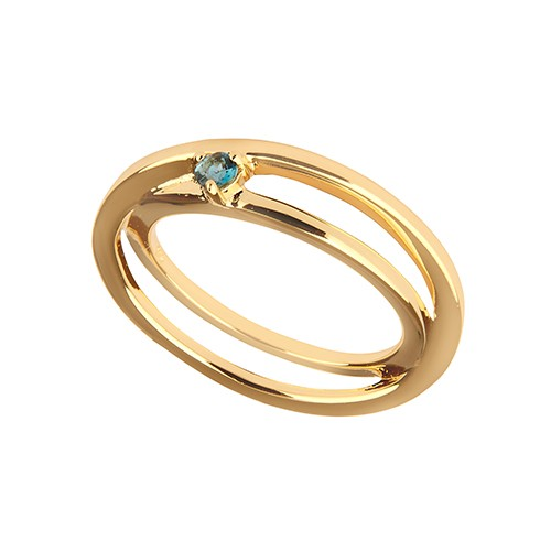 Charming Self-Love Ring Gold