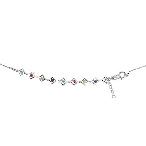 Charming Self-Love Bracelet Silver