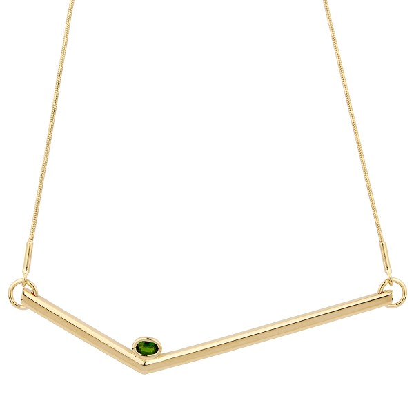 Simple Transforming Necklace Gold