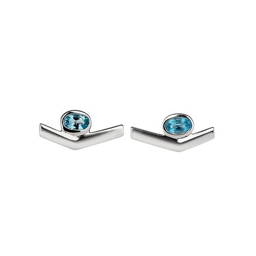 Simple Transforming Earrings Silver