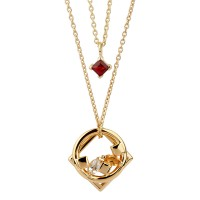 Daring Necklace Gold