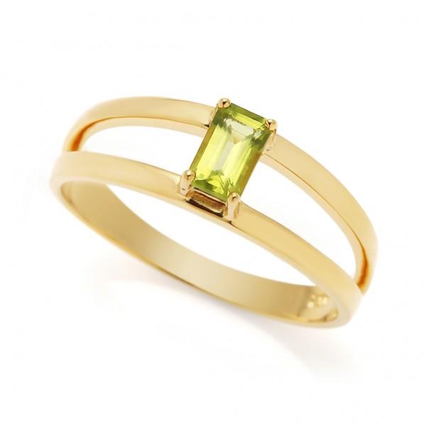 Imaginative - Ring Peridot (grün) Gold