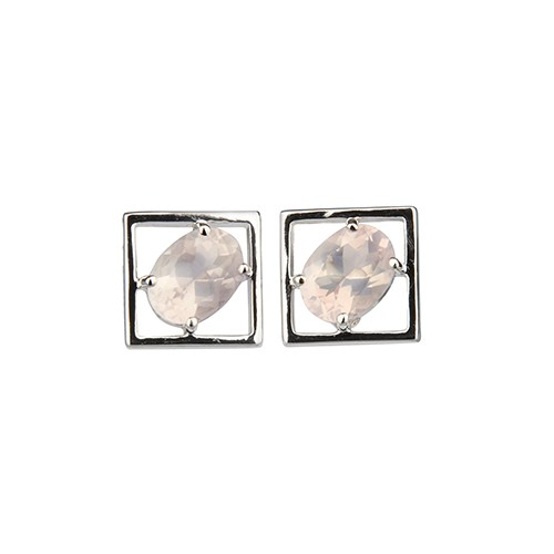 Charming Small Earrings Silver