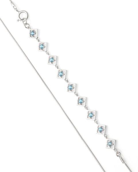 Embrace Me Bracelet Silver Topaz