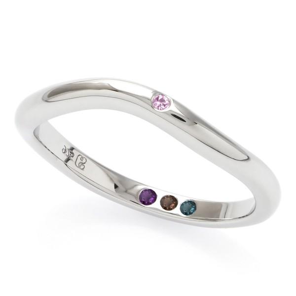 Hidden Inner Strength Ring Silver 2mm polished