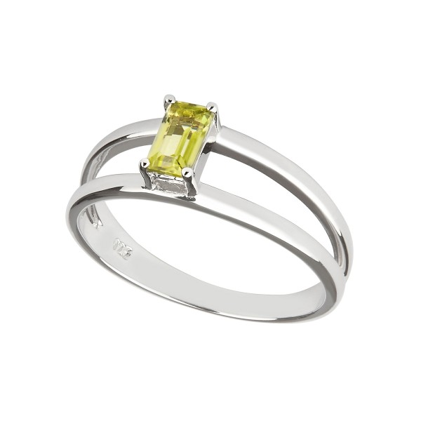 Charming Imaginative - Ring Peridot (grün) Silber