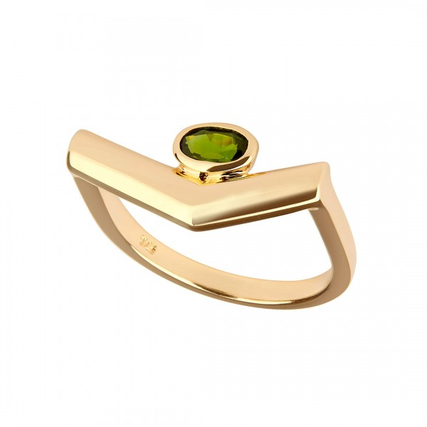 Simple Pioneering Ring Gold